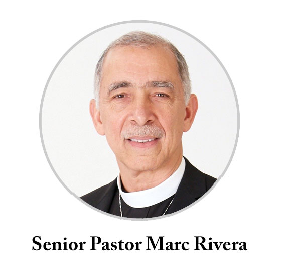 Senior Pastor Rev. Dr. Marc Rivera